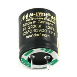 Конденсатор Mundorf M-Lytic AG GO 63 VDC 2200 uF