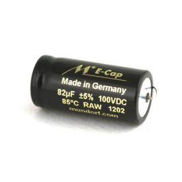 Конденсатор Mundorf E-Cap AC Raw 100 VDC 82 uF