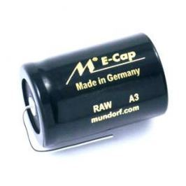Конденсатор Mundorf E-Cap AC Raw 100 VDC 68 uF