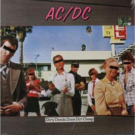 AC/DC AC/DC - Dirty Deeds Done Dirt Cheep