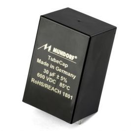 Конденсатор Mundorf Tubecap 600 VDC 30 uF