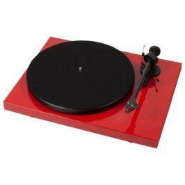 Виниловый проигрыватель Pro-Ject Debut Carbon DC Phono USB Red (OM-10)