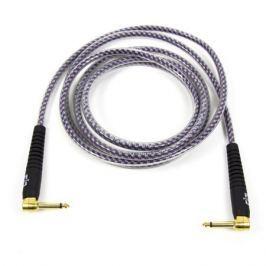 Кабель гитарный Analysis-Plus Pro Oval Studio G&H Plug Gold with OVERMOLD Plug 2 m (угловой/угловой)