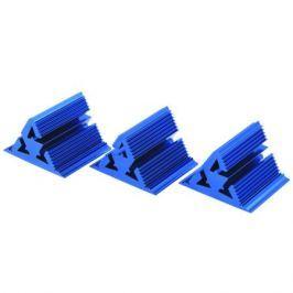 Фрактальный диффузор Cold Ray Fractal 7 Blue (комплект 3 шт.)