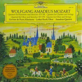 Mozart Mozart - Clarinet Quintet In K; Oboe Quartet In F