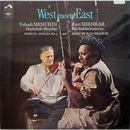 Yehudi Menuhin Ravi Shankar Yehudi Menuhin Ravi Shankar - West Meets East