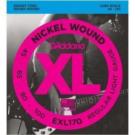 Гитарные струны D'Addario EXL170 (для бас-гитары)