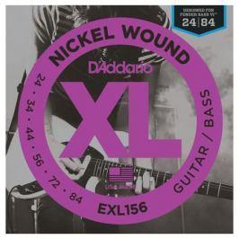 Гитарные струны D'Addario EXL156 (для бас-гитары)