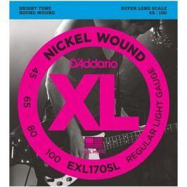 Гитарные струны D'Addario EXL170SL (для бас-гитары)