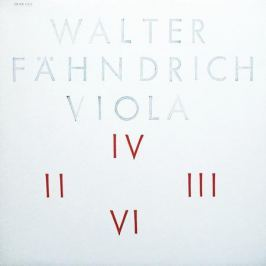 Walter Fahndrich Walter Fahndrich - Viola