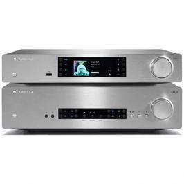 Стереоусилитель Cambridge Audio CXA 80 + CXN v2 Silver