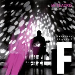 Fabrizio De Andre Fabrizio De Andre - In Teatro - Il Concerto 1992/1993 (3 LP)