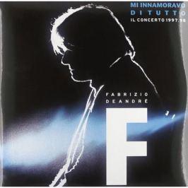 Fabrizio De Andre Fabrizio De Andre - M'innamoravo Di Tutto - Il Concerto 1998 (3 LP)