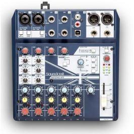 Аналоговый микшерный пульт Soundcraft Notepad-8FX