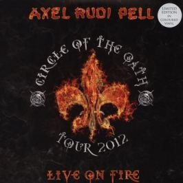 Axel Rudi Pell Axel Rudi Pell - Live On Fire (3 Lp, Colour)