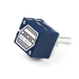 Потенциометр ALPS RK27 20 kOhm стерео (Blue Velvet) 20 mm