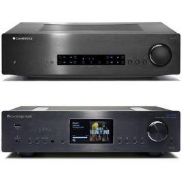 Стереоусилитель Cambridge Audio CXA 60 + 851N Black
