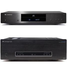 Стереоусилитель мощности Cambridge Audio Azur 851W + CXC Black