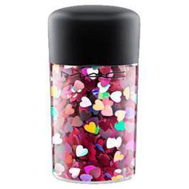 MAC GALACTIC GLITTER & GLOSS Рассыпчатые блестки Pink Hearts