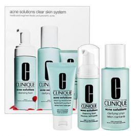 Clinique Anti-Blemish solutions 3-Ступенчатая Система ухода за проблемной кожей Anti-Blemish solutions 3-Ступенчатая Система ухода за проблемной кожей