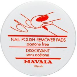 Mavala Nail Polish Remover Pads Салфетки для снятия лака Nail Polish Remover Pads Салфетки для снятия лака
