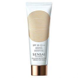 Sensai Silky Bronze Солнцезащитный крем для лица c нано-частицами SPF30 Silky Bronze Солнцезащитный крем для лица c нано-частицами SPF30