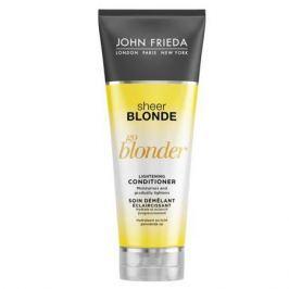 John Frieda Sheer Blonde Go Blonder Кондиционер осветляющий для натуральных, мелированных и окрашенных волос Sheer Blonde Go Blonder Кондиционер осветляющий для натуральных, мелированных и окрашенных волос
