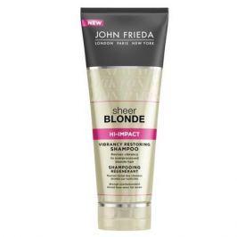 John Frieda Sheer Blonde Hi-Impact Восстанавливающий шампунь для сильно поврежденных волос Sheer Blonde Hi-Impact Восстанавливающий шампунь для сильно поврежденных волос