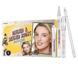 Benefit Defined & Refined Brows Набор для макияжа бровей 03 Medium (коричневый)