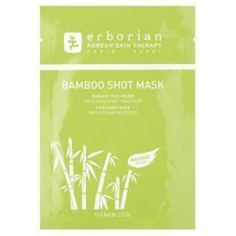 Erborian Бамбук Увлажняющая тканевая маска в одноразовой упаковке Бамбук Увлажняющая тканевая маска в одноразовой упаковке
