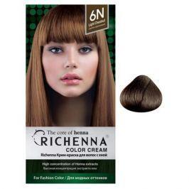 Richenna Крем-краска для волос с хной Light Chestnut