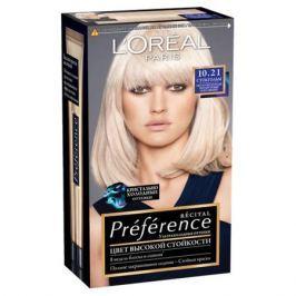 L'Oreal Paris Preference Краска для волос 11.21 ультраблонд холодный перламутровый