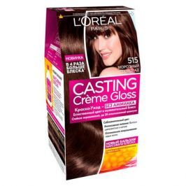 L'Oreal Paris Casting Creme Gloss Краска для волос без аммиака 415 морозный каштан