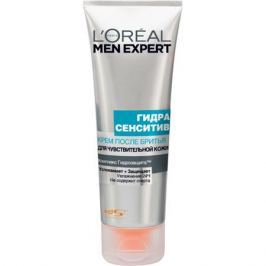 L'Oreal Paris Men Expert Hydra Sensitive Крем после бритья для чувствительной кожи Men Expert Hydra Sensitive Крем после бритья для чувствительной кожи