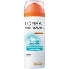 L'Oreal Paris Men Expert Hydra Sensitive Пена для бритья для чувствительной кожи Men Expert Hydra Sensitive Пена для бритья для чувствительной кожи