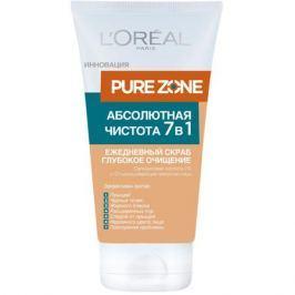 L'Oreal Paris Pure Zone Абсолютная Чистота 7 в 1 Ежедневный скраб для лица Pure Zone Абсолютная Чистота 7 в 1 Ежедневный скраб для лица