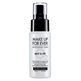 MAKE UP FOR EVER MIST&FIX O2 Фиксатор для макияжа в дорожном формате MIST&FIX O2 Фиксатор для макияжа в дорожном формате