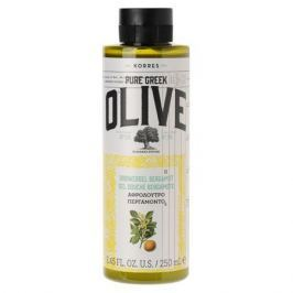 Korres Pure Greek Olive Гель для душа в ассортименте Мёд