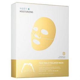 The Oozoo Золотая фольга 3х-слойные экспресс-маски с термоэффектом с аквапорином Золотая фольга 3х-слойные экспресс-маски с термоэффектом с аквапорином