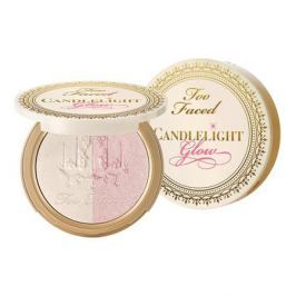 Too Faced CANDLELIGHT GLOW Двойная пудра-хайлайтер Rosy (Розовый)