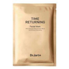 Dr. Jart+ TIME RETURNING Антивозрастная маска с муцином улитки в одноразовой упаковке TIME RETURNING Антивозрастная маска с муцином улитки в одноразовой упаковке