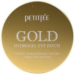 Petitfee Гидрогелевые патчи под глаза с 24-каратным коллоидным золотом Гидрогелевые патчи под глаза с 24-каратным коллоидным золотом