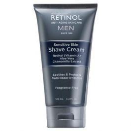 Retinol MEN Крем для бритья для чувствительной кожи с ретинолом, алоэ вера и экстрактом ромашки MEN Крем для бритья для чувствительной кожи с ретинолом, алоэ вера и экстрактом ромашки