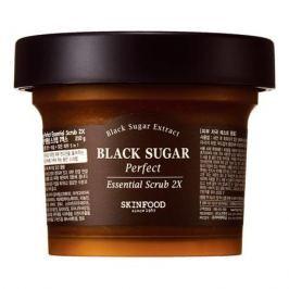 SKINFOOD BLACK SUGAR Скраб для кожи лица BLACK SUGAR Скраб для кожи лица