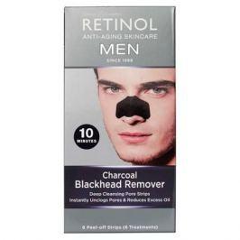Retinol MEN Патчи для удаления черных точек на основе угля MEN Патчи для удаления черных точек на основе угля
