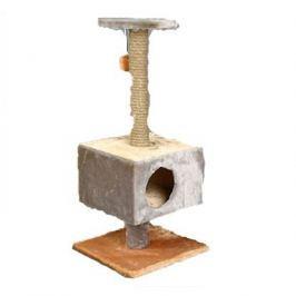 Домик RP8108с когтеточка квадратный на подставке (сизаль) для кошки