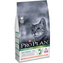 Сухой корм Pro Plan для кастрированных, стерилизованных кошек, лосось 10 кг