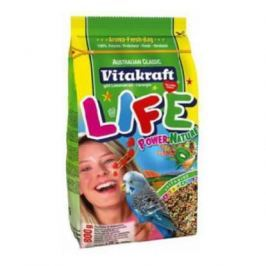 Корм Vitakraft Life Power Nature для волнистых попугаев (800 гр)