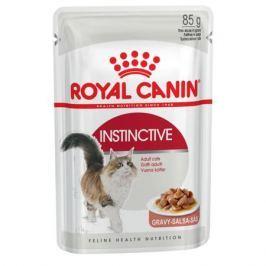 Влажный корм RC Instinctive для взрослых кошек от 1 года, кусочки в соусе, 85 г.