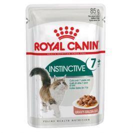 Влажный корм RC Instinctive для взрослых кошек от 7 до 12 лет, кусочки в соусе, 85 г.